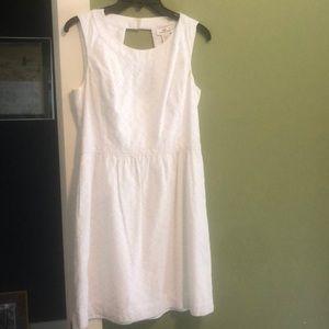 Vineyard Vines White Dress, size 8